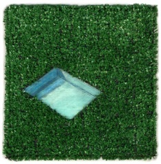 """Pool Astroturf"" by Karin Stack"