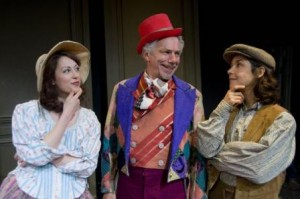 Kelley Curran, Jonathan Epstein, and Merritt Janson in Shakespeare & Company's production of 'As You Like It'