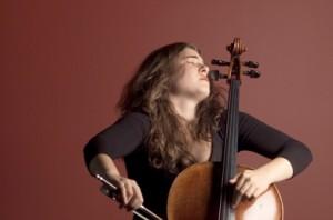 Cellist Alisa Weilerstein (photo by Lucio Lecce)