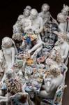 Chris Antemann's porcelain Feast of Impropriety (courtesy Ferrin Gallery)