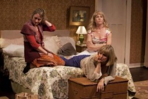 Kristin Wold, Corinna May and Elizabeth Aspenlieder in 'The Memory of Water'