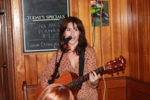 Singer-songwriter Rebecca Hart at the Lantern