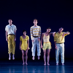 Mark Morris Dance Group in 'Dancing Honeymoon' (photo Christopher Duggan)