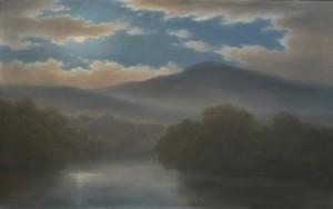 'River Nocturne' by Jane Bloodgood-Abrams