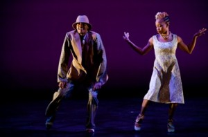Jule D. Lane and Camille A. Brown in 'Been There, Done That' (photo Christopher Duggan)