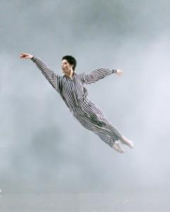 Herman Cornejo in Twyla Tharp's 'In the Upper Room' (photo by Gene Schiavone)