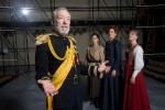 Dennis Krausnick plays the title role in 'King Lear' at Shakespeare & Co. (photo Kevin Sprague)