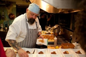 Red Lion Inn executive chef Brian J. Alberg at last year's James Beard House dinner