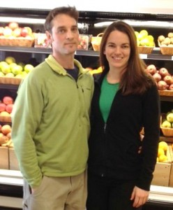 Brian and Aleisha Gibbons of Berkshire Organics