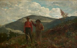 Winslow Homer (American, 1836–1910), Two Guides, 1877. Oil on canvas, 24 1/4 x 38 1/4 in. (61.6 x 97.2 cm). Sterling and Francine Clark Art Institute, Williamstown, Massachusetts, 1955.3
