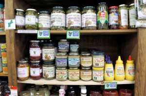 None of these items on the shelves at Berkshire Organics contain GMOs