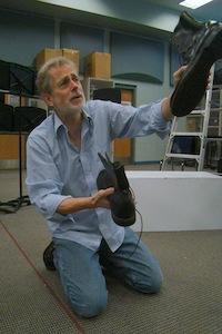 Steve Hendrickson as The Poet (photo Caskey Hunsader)