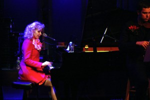 NELLIE MCKAY AT PIANO