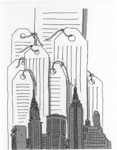'Skyscrapers' by RO Blechman