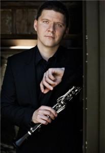 Clarinetist Alex Fiterstein (photo Lisa-Marie Mazzucco)