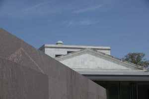 Detail of ClarkCenter and Museum Building 5