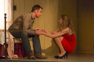 Sam Rockwell and Nina Arianda in 'Fool for Love' (photo T Charles Erickson)