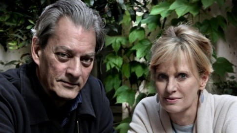 Paul Auster and Siri Hustvedt