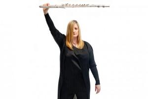 flutist Tara Helen O'Connor Photograph © Beowulf Sheehan