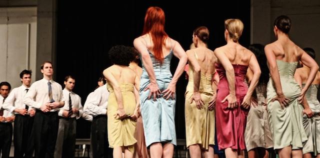Pina Bausch's 'Kontakthof' (photo Theatre de la Ville)
