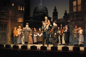 Scene from 'A Christmas Carol' at the Colonial