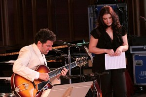 Pizzarelli and Monheit at Tanglewood