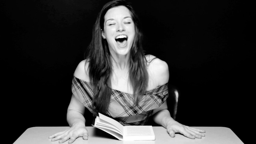 Clayton Cubitt, Still from Hysterica  Literature: Session One:  Stoya,  2012, Courtesy the artist