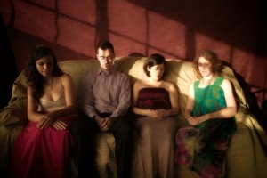 Momenta Quartet (photo John Gurrin)