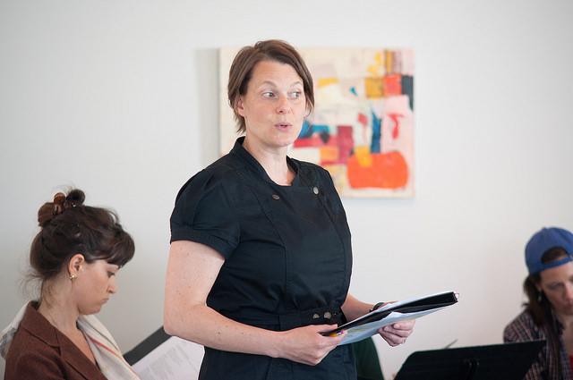 WAM artistic director Kristen Van Ginhoven in a scene from Fresh Takes 2014