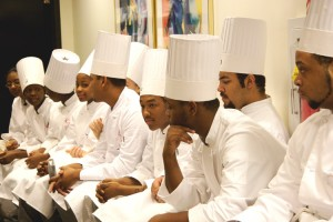 'Pressure Cooker' chefs-in-training