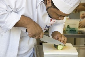 Pressure Cooker cook slicing
