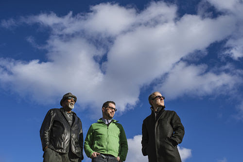 Charlie Hunter Trio (l-r: Fowlkes, Hunter, Previte)