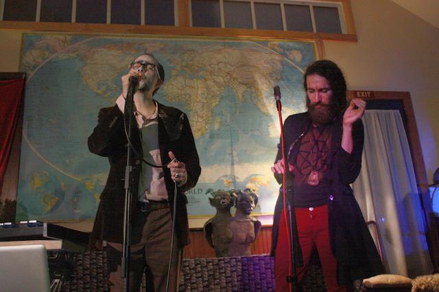 Fredo Viola and Luis Mojica