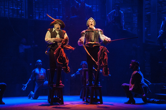 Scene from 'Man of La Mancha' (photo Kevin Sprague)