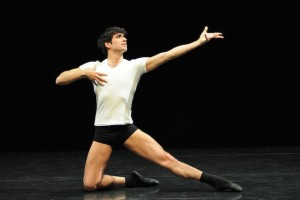 Rosario Guerra of Gauthier Dance in 'Ballet 101' (photo Regina Brocke)