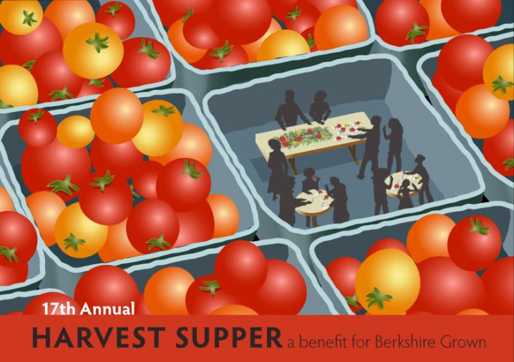Berkshire Grown Harvest Supper logo