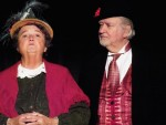 Music hall performers Judy Staber and Ted Pugh