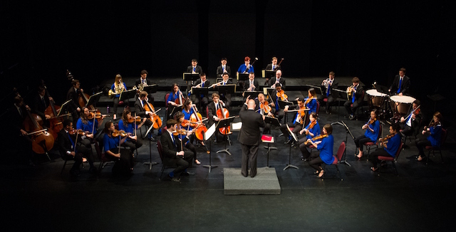 Leon Botstein conducts The Orchestra Now (photo Jito Lee)