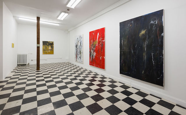 Works by Ted Gahl (photo Peter Mauney)