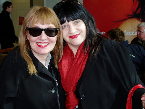 Bibbe Hansen and Lydia Lunch