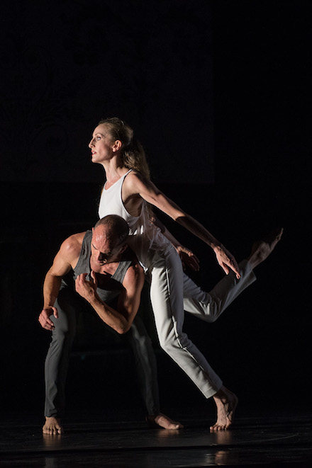 Wendy Whelan and Brian Brooks in 'Some of a Thousand Words' (photo Christopher Duggan)