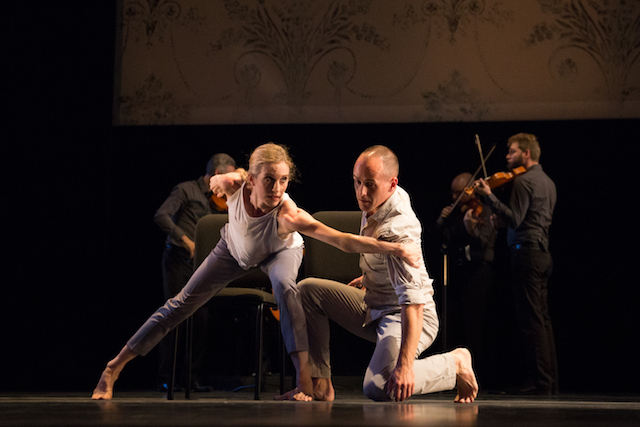 Wendy Whelan and Brian Brooks in 'Some of a Thousand Words' (photo Hayim Heron)