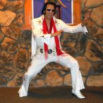 Elvis impersonator Joe Borelli