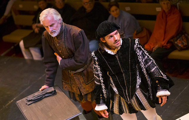 John Hadden (Antonio) and Shahar Isaac (Bassani) (photo Ava G. Lindenmaier)