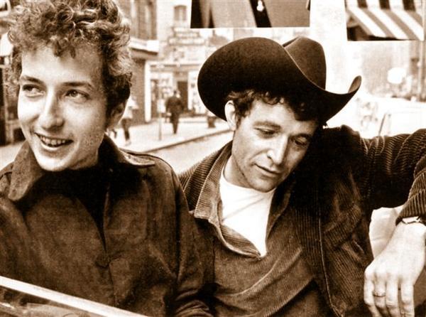 Bob Dylan and Ramblin' Jack Elliott