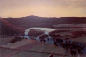 A Stephen Hannock landscape from 2002