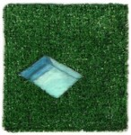 "Karin Stack's ""Pool Astroturf"""