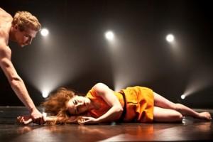 """Keigwin + Company dancers in """"Runaway"""" (photo by Matthew Murphy)"""