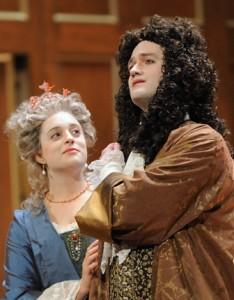 Teresa Wakim and Aaron Sheehan in the  2009 BEMF Chamber Opera Series production of Handel's Acis and Galatea (credit David Walker)