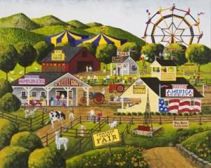 "Art Poulin's ""Day at the Fair"""